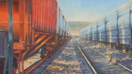 Full Circle, an exhibition by Kevin Fahey at the Tioga Arts Council in February