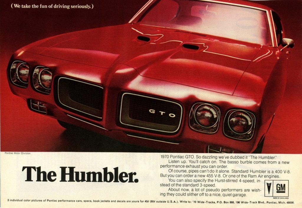 Collector Car Corner – 1970 Pontiac GTO Ram Air IV owner
