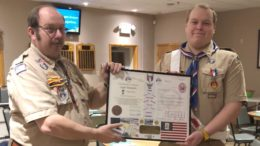 Vestal Elks hold Court of Honor ceremony for new Eagle Scout