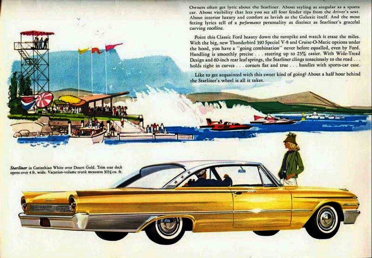 Cars We Remember - Rare Fords: 1961 Starliner and 1968 Ford XL GT Cobra Jet ragtop