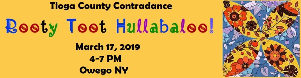 Contradance presents the 2019 'Rooty Toot Hallabaloo!