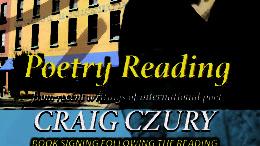 Riverow Bookshop to host acclaimed poet Craig Czury