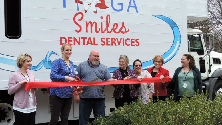 New Tioga Smiles Mobile Dental Unit unveiled