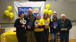 Rotary Revelers win United Way's Spelling Bee