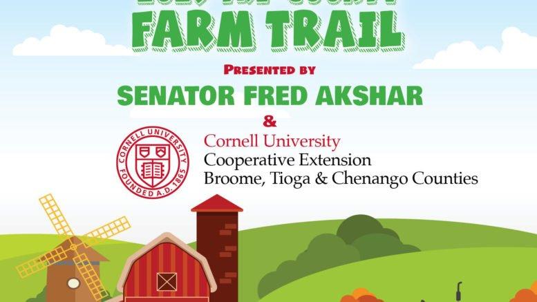 Senator Akshar and Cornell Cooperative Extension invite families to travel the 2019 Tri-County Farm Trail