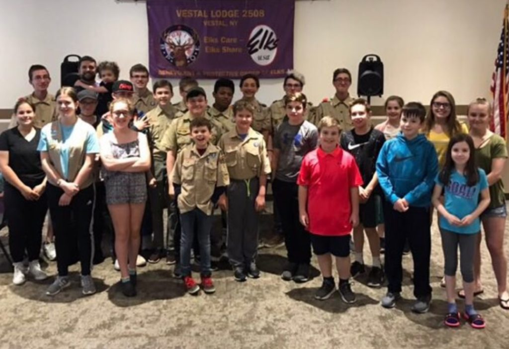 Vestal Lodge holds 'Youth Awareness' party