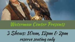 Waterman Conservation Education Center presents 'The Raptor Project'