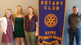 Sayre Rotary announces essay contest winners
