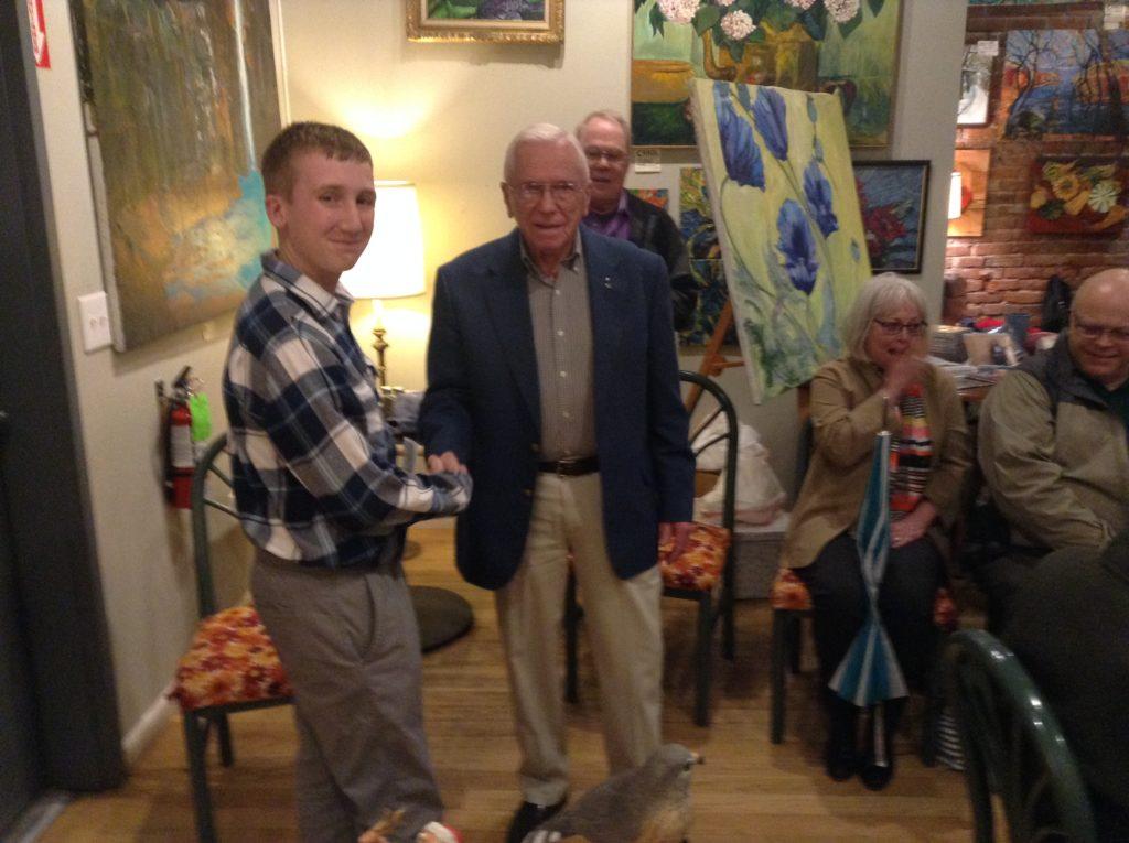 Tioga County celebrates Roger Westgate