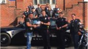 'Blue Brothers' support memorial in honor of fallen Owego Police Department Officers