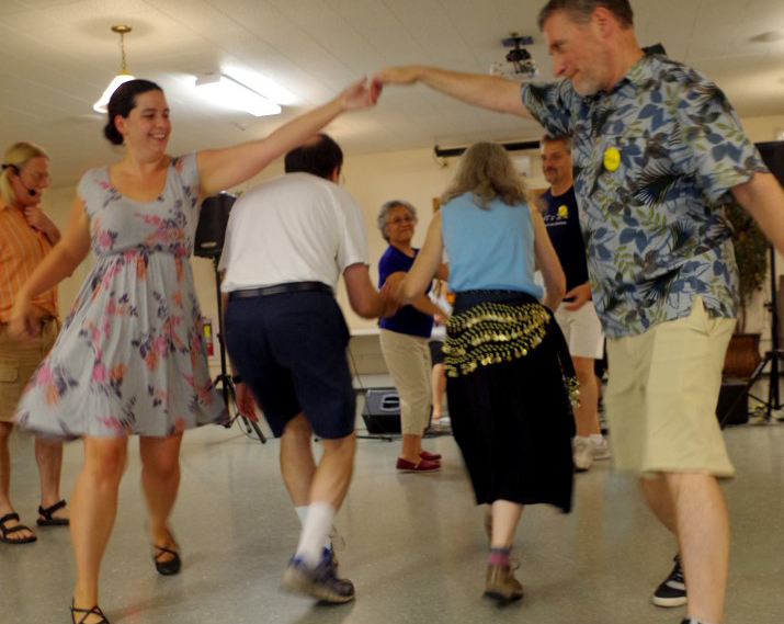 Contradancing in Owego