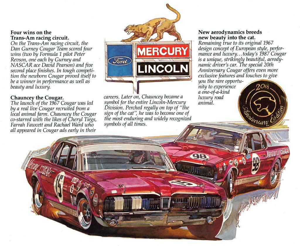 Cars We Remember - Rare Mercury Cougar XR7-G and the legend of Dan Gurney