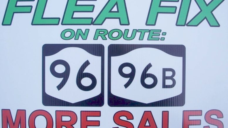 Get your 'Flea Fix' on Route 96