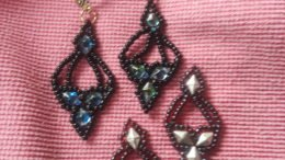 Lacey Victorian Beaded Earrings workshop at the Bement-Billings Farmstead