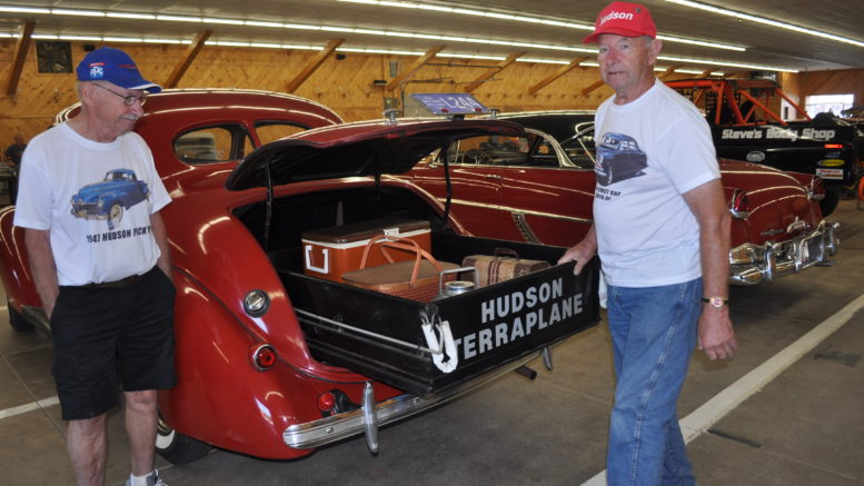 Collector Car Corner - Nelson Creasy's 1937 Hudson Terraplane Utility Coupe