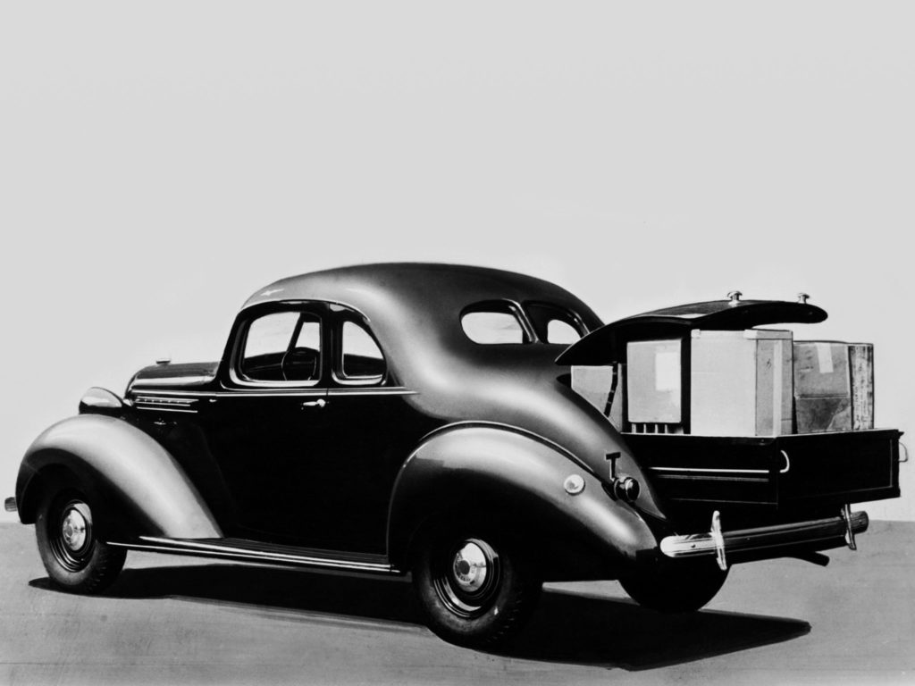 Collector Car Corner - Nelson Creasy's 1937 Hudson Terraplane Utility Coupe