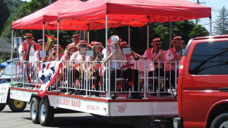 Kirby Band kicks off Monday night concert series