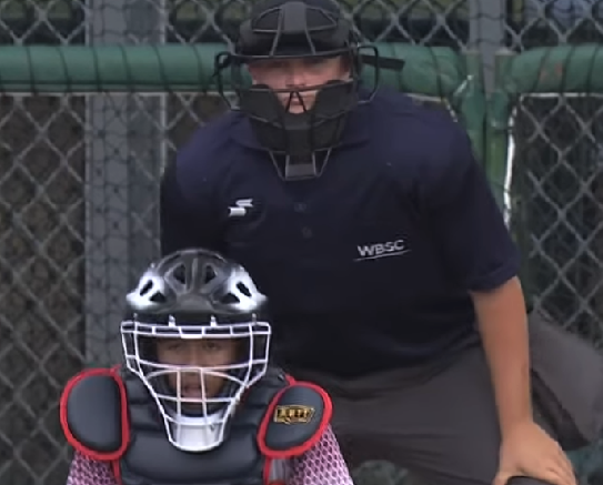 OFA graduate umpires at world games