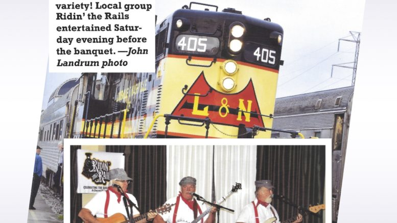 Ridin' the Rails to perform at Newark Valley Depot