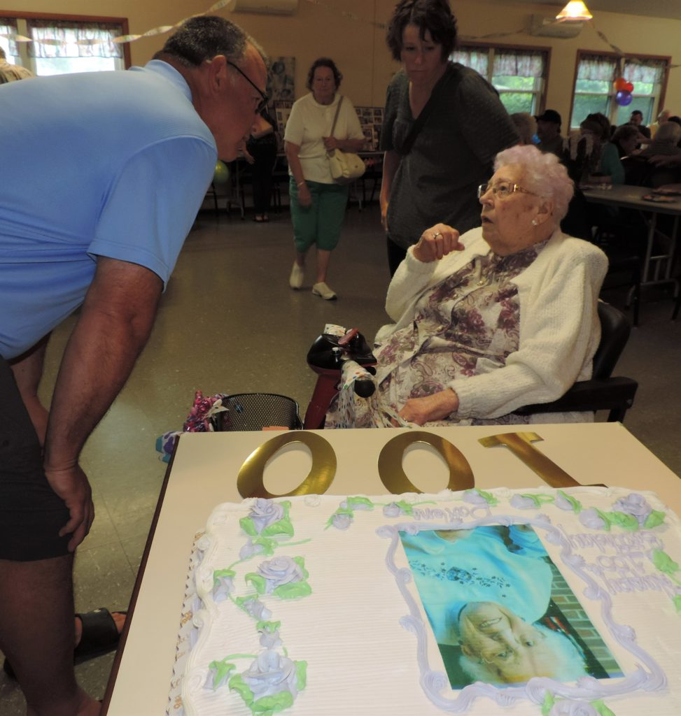 Tioga County resident celebrates 100th birthday!