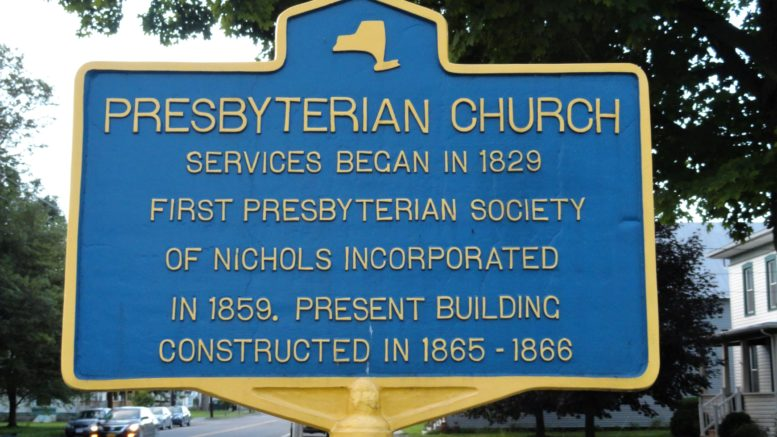Nichols Presbyterian Church celebrates 160 years