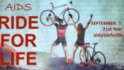 Calling all cyclists for the 21st Annual AIDS 'Ride for Life' on September 7