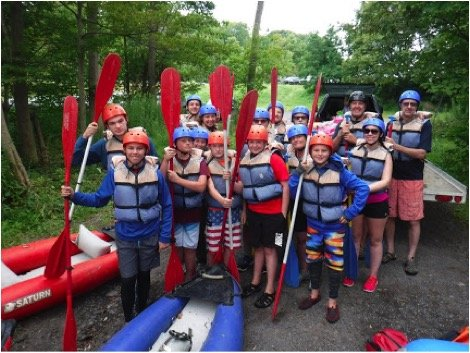 Local Scouts hone skills on the Salmon River