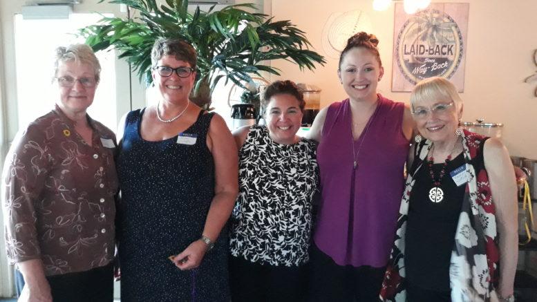 NYS Women Inc., Susquehanna Chapter, installs new officers; awards 2018-2019 Women Helping Women Scholarship