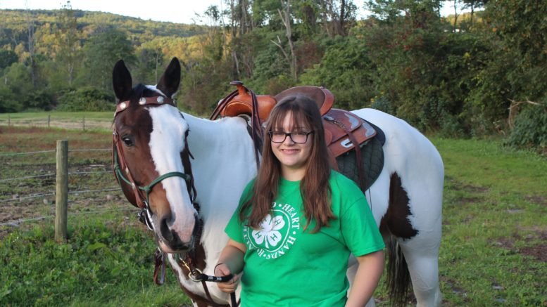 Local 4-H teen to represent Tioga County in national competition