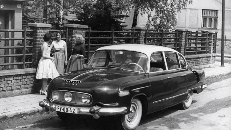 Collector Car Corner - Czechoslovakia cars; Tatraplan automobiles remembered for ingenuity, more