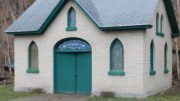 When was the Evergreen Mortuary Chapel built?