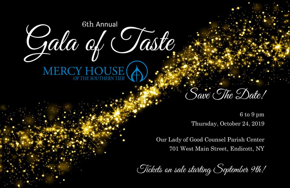 Mercy House to host Gala of Taste