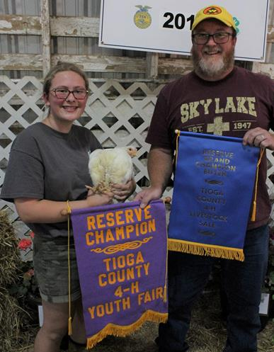 Tioga County 4-H Livestock Auction totals $34,251.60