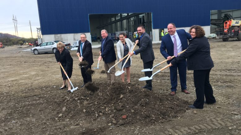 Officials break ground on hot-dip galvanizing plant in Owego