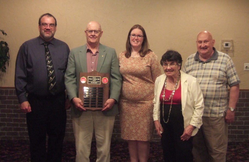 Rome resident and Kirby Band member receives Irving and Kathryn Hall Award