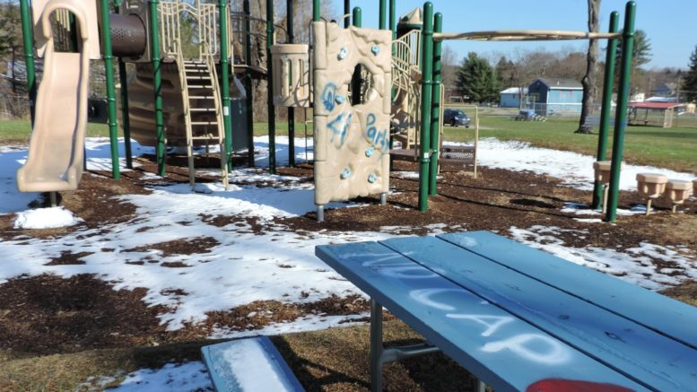 Local youth inspired to clean up vandalized park