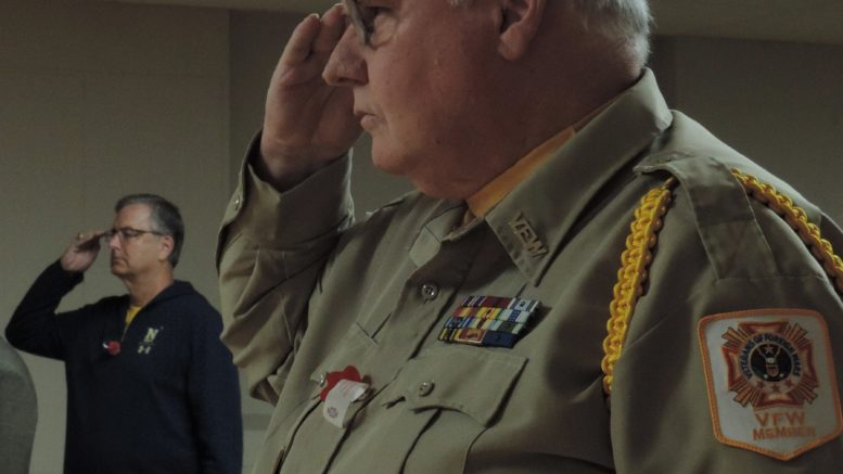 Veterans honored for their service