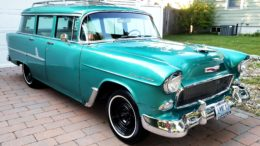 Collector Car Corner - '55 Chevy 210 Station Wagon owner memories