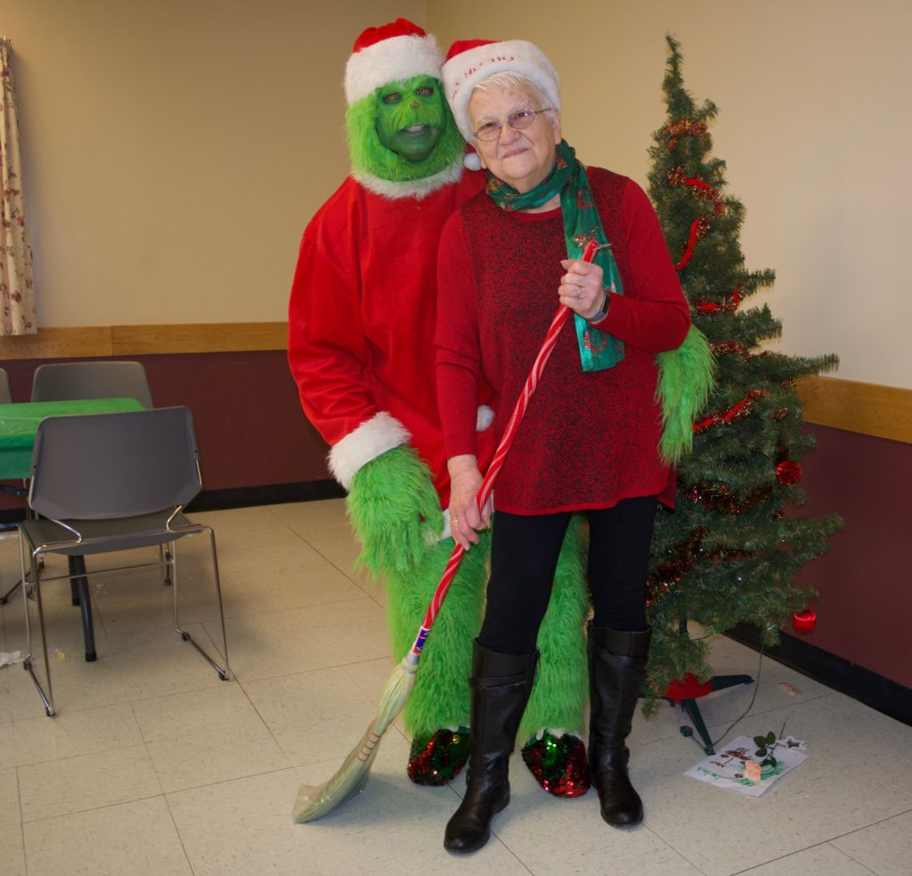 Grinch visits Candor for annual breakfast