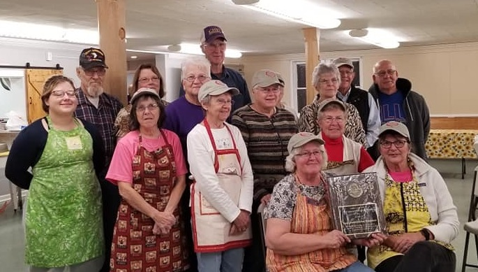 Volunteers awarded Robert J Uplinger Award