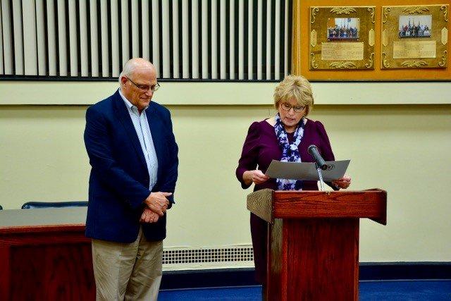 Legislature recognizes Ralph Kelsey; congratulates Candor Indians Volleyball Team at regular meeting