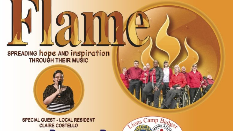 Flame the Band in Concert at Tioga Downs on February 1