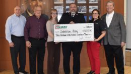 Mirabito Energy donates to the Salvation Army