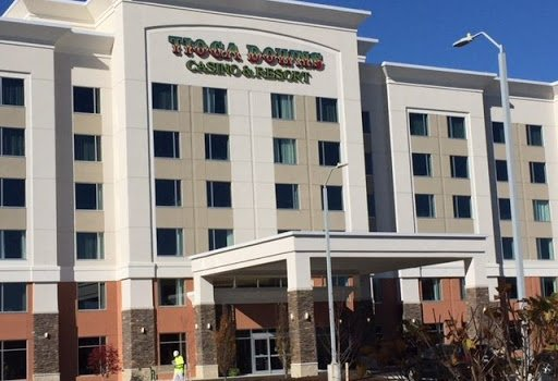 Tioga Downs is open for business, but restricted in capacity