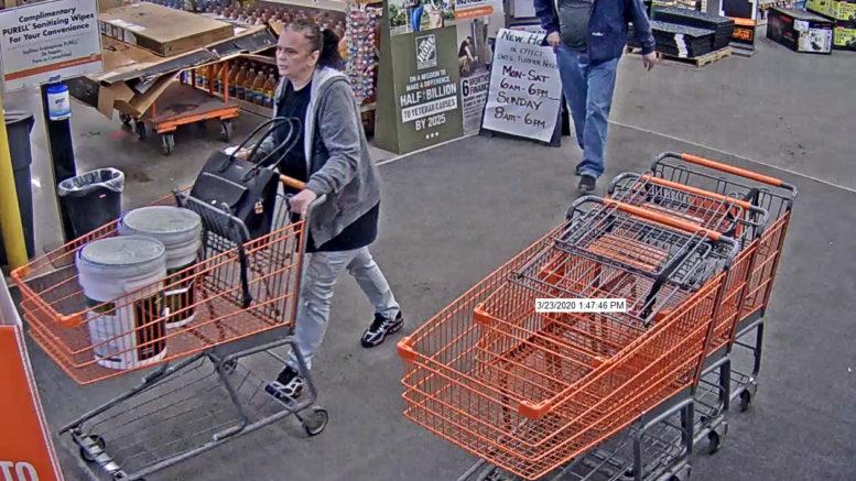 State Police seeking tips identifying Home Depot larceny suspect