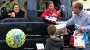 A birthday parade!