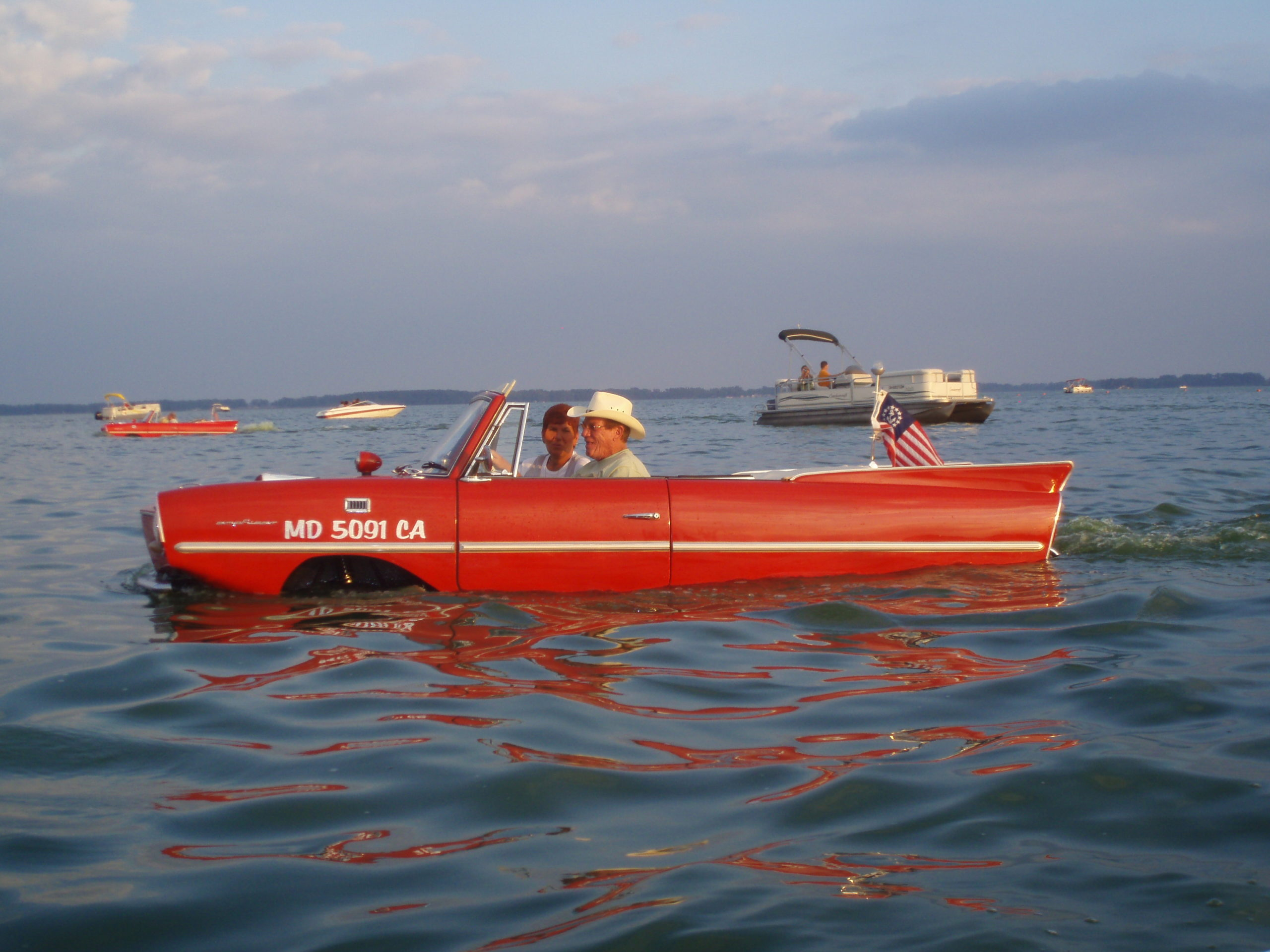 Collector Car Corner - Flying cars still the car of the future; Amphicar was home on land or sea