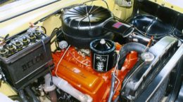 Collector Car Corner - Reader discusses his 265-V8 55 Chevy and a persistent oil leak