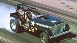 Collector Car Corner - Those wild, incredible Jeep funny cars and the first ever consumer Jeep