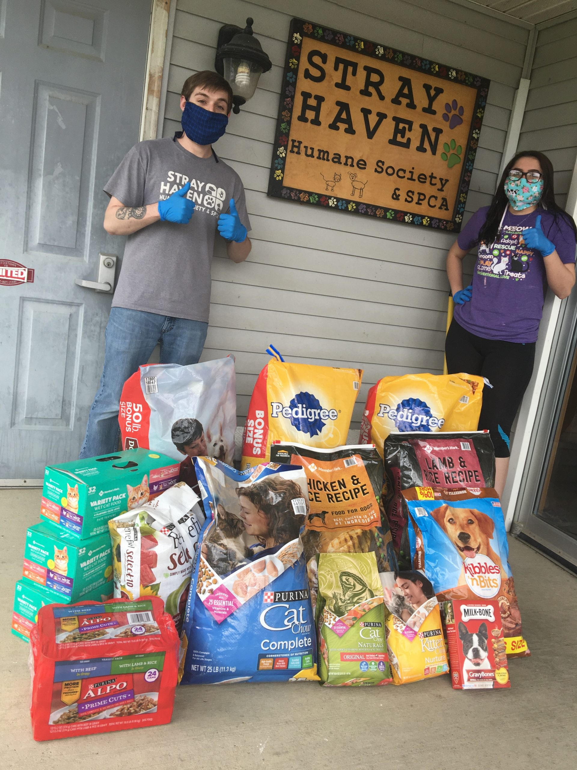 Pet food drive-thru helping furry friends during pandemic